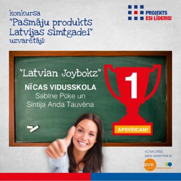 """Konkursa """"Pašmāju produkts Latvijas simtgadei"""" rezultāti!"""