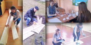 """""""Koka soliņi"""" Projekta autori: Līna Šlapakova, Ilze Verpakovska, Inguss Sutins (Kaunatas vidusskola)"""