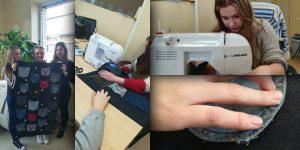 Kabatas telefoniem. Projekta autores:  Elva Vestarta, Samanta Sergejeva, Una Monika